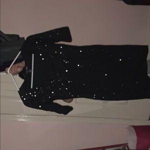 black elegant dress !! USED ONCE